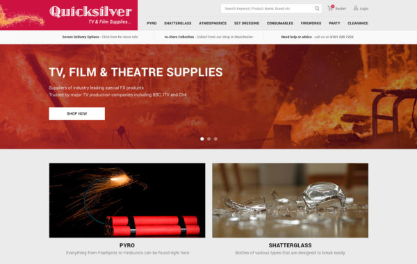 Quicksilver TV & Film Supplies