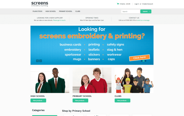 Screens Schoolwear